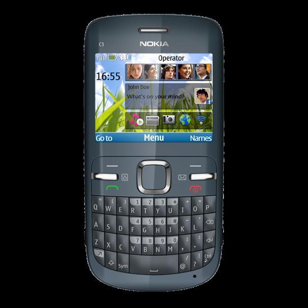 Nokia C3 ( nokia con teclado qwerty y wifi)