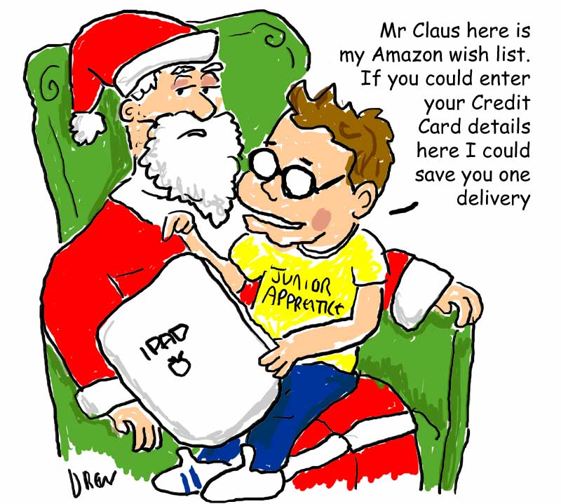Santa vs Junior Apprentice