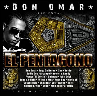 disco my space de don omar: