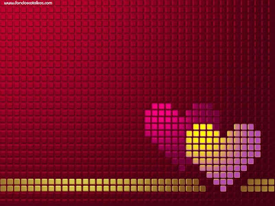 wallpapers de corazones. Love wallpapers red hearth