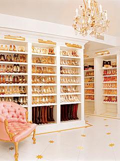 Къщата на Клеър Бенет Mariah+carey+closet