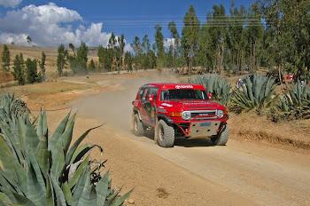 RALLY   INTERNACIONAL  EN  HUANCAYO