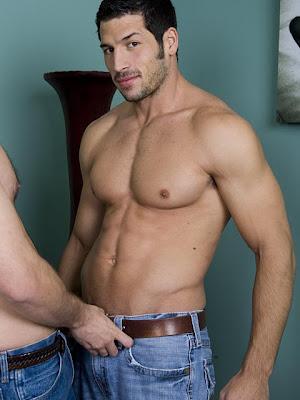 Leo Giamani and David Chase hot gay sex