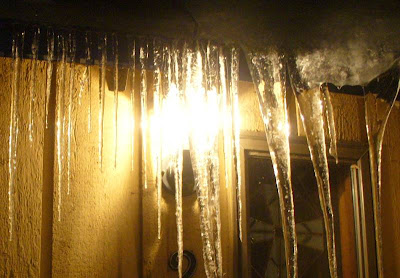 January icicles 