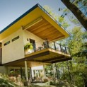 Casa constuída com cannabis