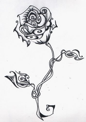 tattoo designs free rose. Flower Tattoo Design And Pictures. Flower Tattoo Design And Pictures