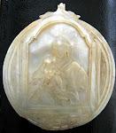 Concha de nácar para bautizar (antigua)