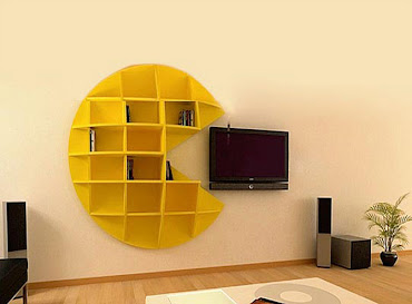 a collection of creative bookshelves design ideas