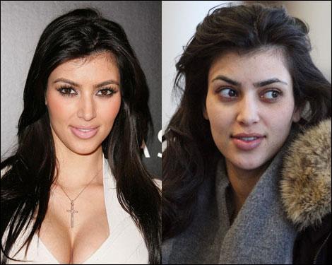 Kardashian   on Because Even Kim Kardashian Needs Make Up