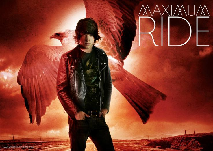 Maximum Ride Max And Fang Coloring Page