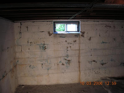 Bubbling Or Peeling Paint On Basement Foundation Walls Is Usually A Sign Of  A Drainage Problem In The Home. The Bubbling Means That The Vapor Pressure  Of ...