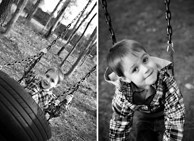 on the tireswing