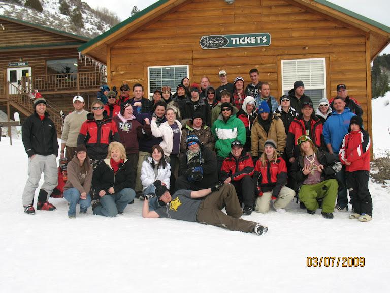 Kelly Canyon Crew 08/09