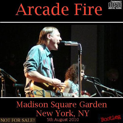 D p 39 s bootleg tunz world arcade fire madison square garden for Arcade fire madison square garden