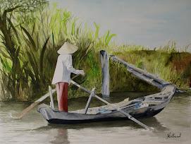 la dame de la barque