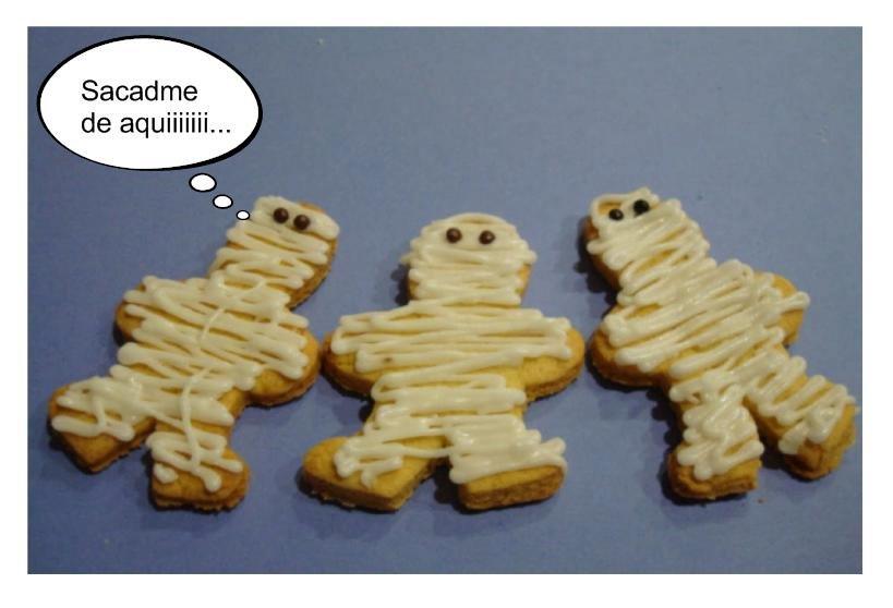 Petit gâteau momies Mumi7
