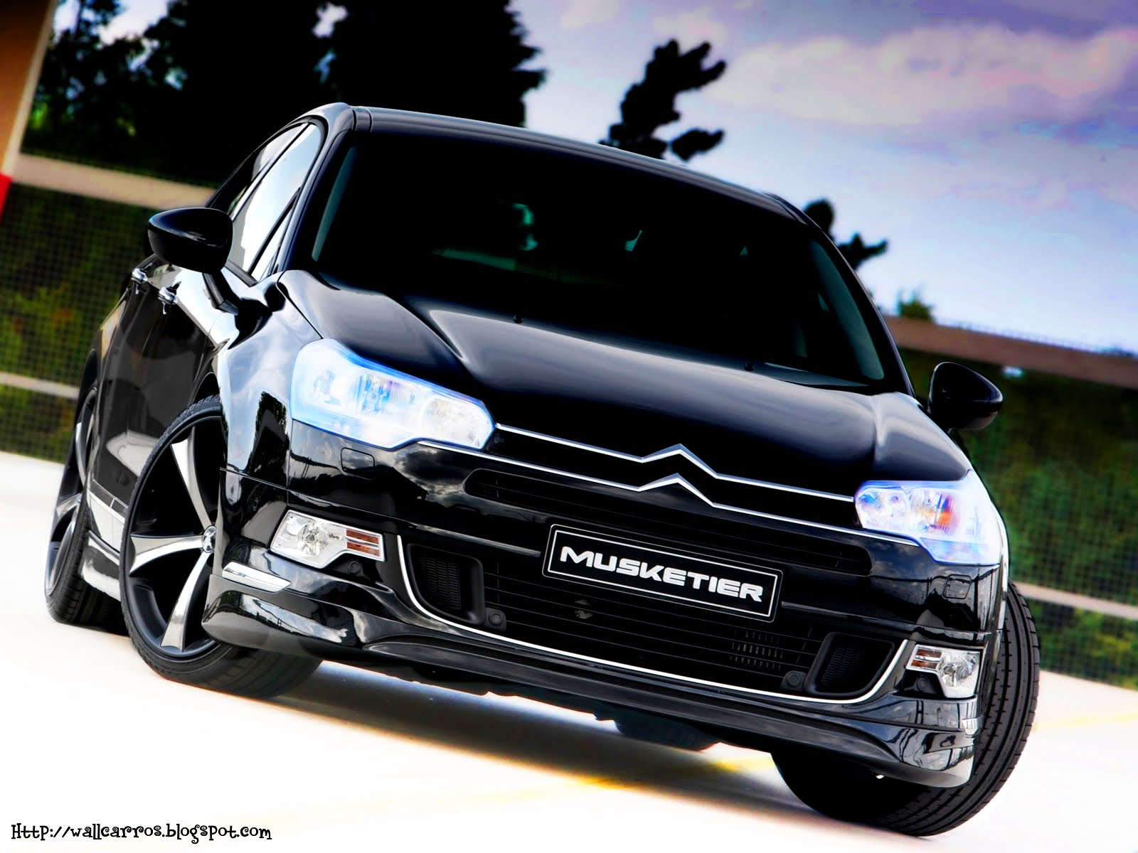 citroen c5 tuning cars hd wallpapers wall box. Black Bedroom Furniture Sets. Home Design Ideas