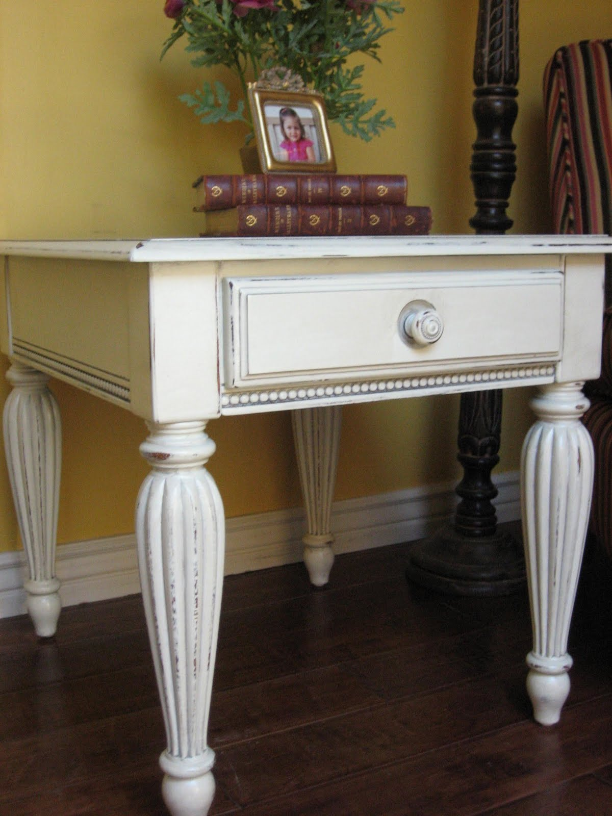 European Paint Finishes End Tables & Coffee Table