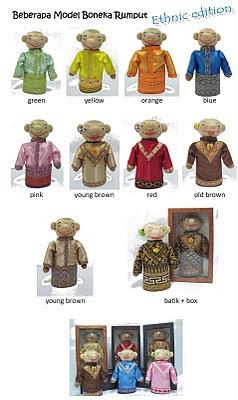 boneka horta etnik koleksi