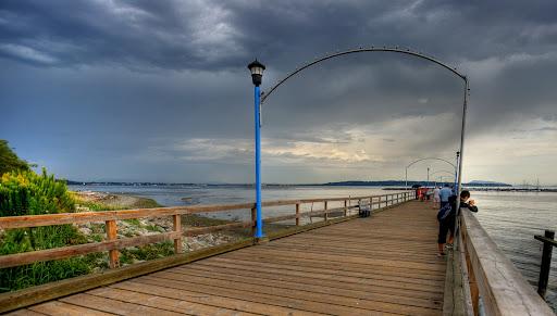 White Rock pier, BC, Canada