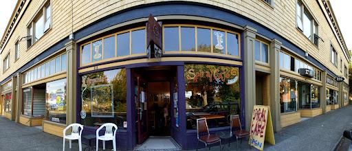Spiral Cafe, Victoria, BC, Canada