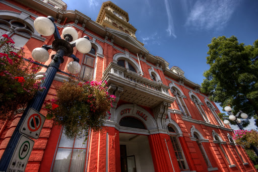 Victoria City Hall, Victoria, BC, Canada