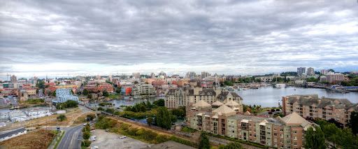 Bayview Residences, view, panorama, downtown Victoria