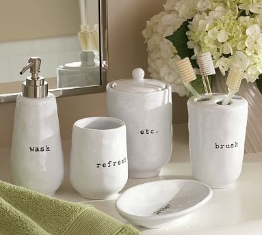 The classy woman potterybarn spring decor inspiration for Spring bathroom decor