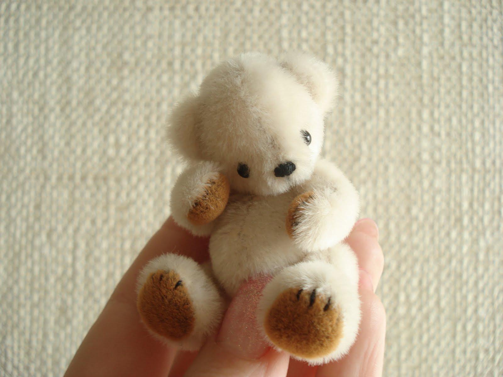Мишки маленькие своими руками 134