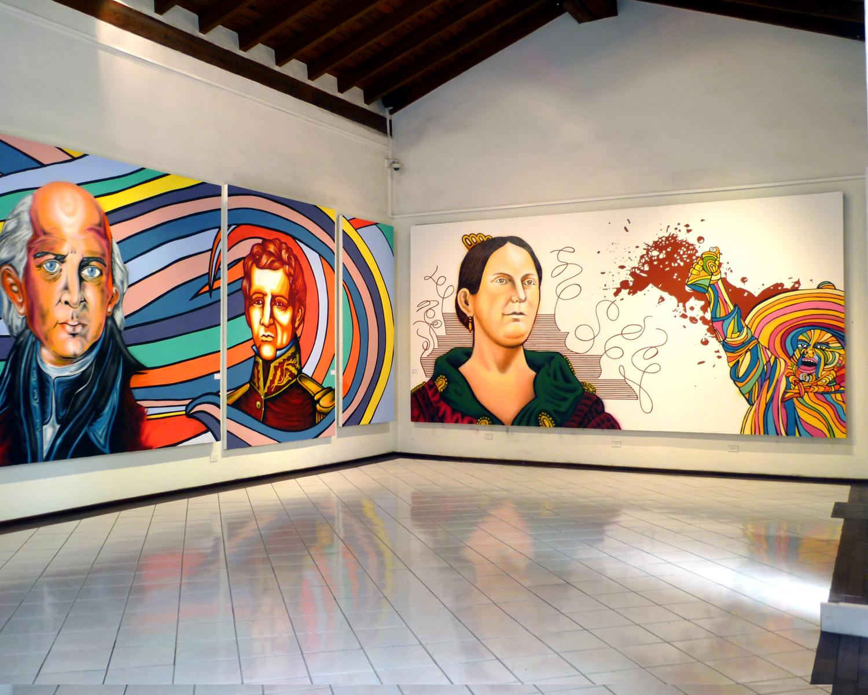 Bit cora pol tica ltimos d as de la exposici n colectiva for Arte colectivo mural