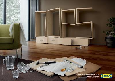 Реклама мебели Икеа