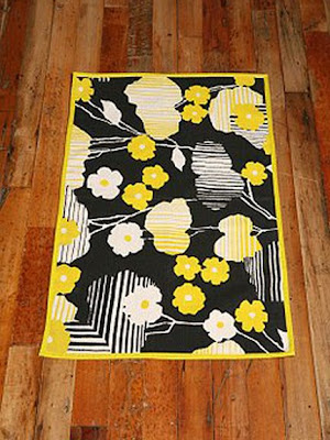 Black White Yellow Urban Outfitters Rugs