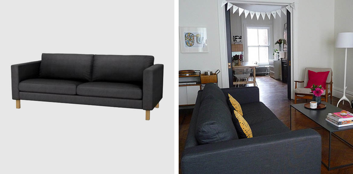 5 {The Great Sofa Search} Ikea Karlstad