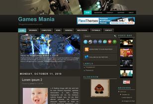 Blogger Templates Games Mania