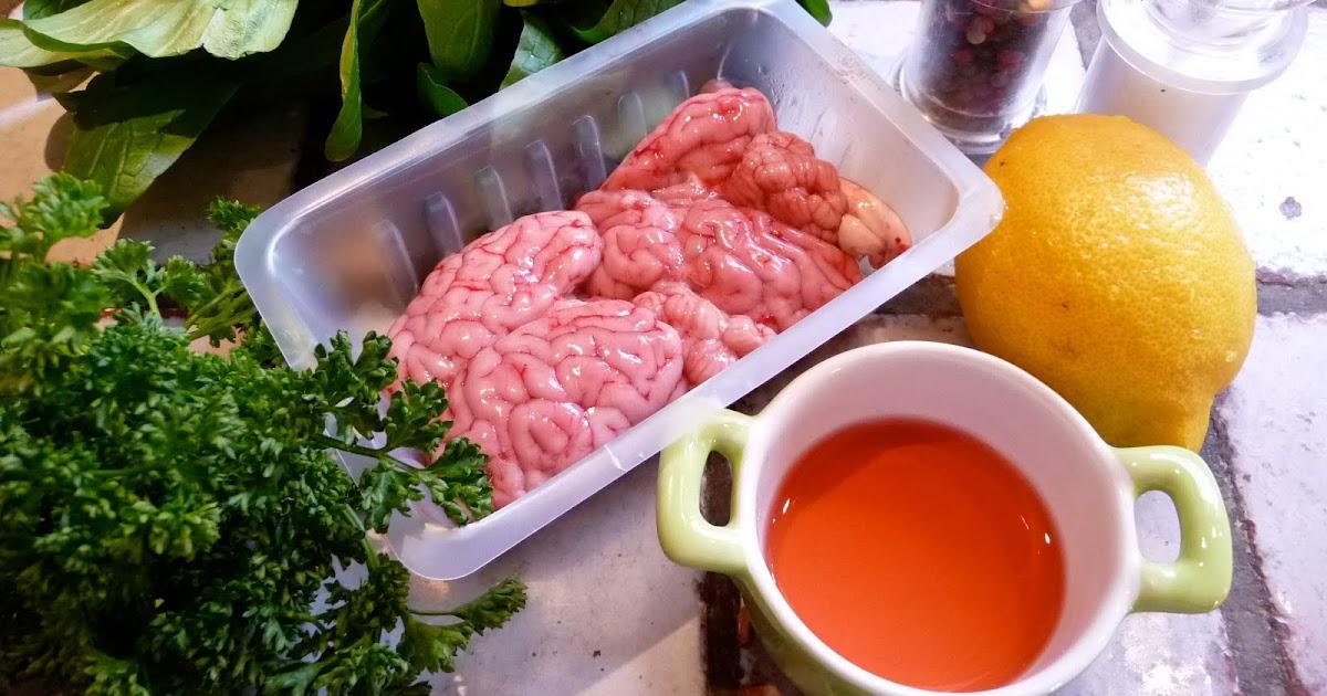 V cervelle d agneau a l ail et au persil le roman culinaire - Comment cuisiner la cervelle d agneau ...