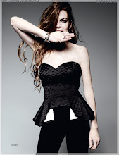 Lindsey Lohan for Elle UK September-09