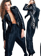 Daria Werbowy for Flare