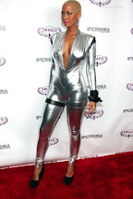 Amber Rose Gets Futuristic For Fashion Week