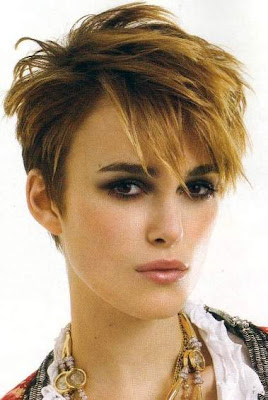 Layered Short Hair Style in Winter 2010