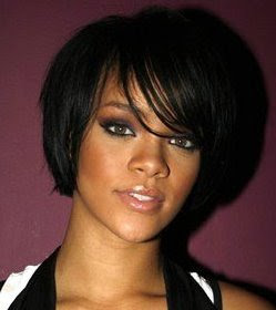 Rihanna Trends Bob Hairstyles Pictures 2010