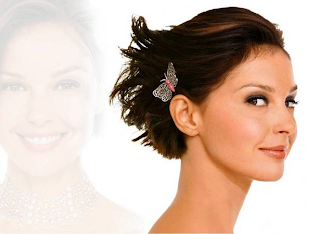 Elegant Beauty Short Wedding Hairstyle