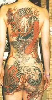 The Big Red Dragon Tattoo