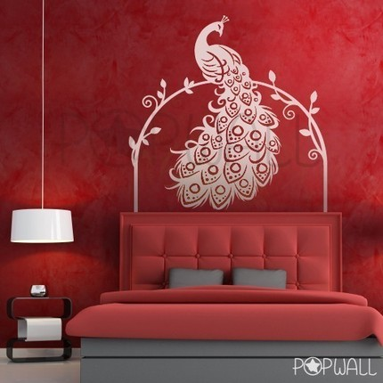 the frequent peacock wall decals. Black Bedroom Furniture Sets. Home Design Ideas
