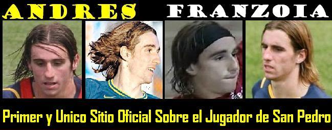 ...::ANDRES -7- FRANZOIA  |  SITIO OFICIAL  |  ASTRO DEL FUTBOL SAMPEDRINO::....
