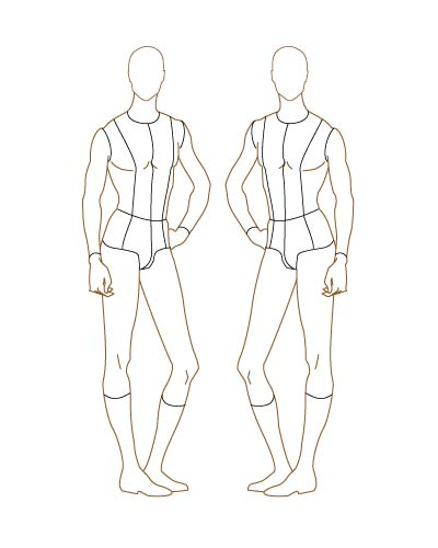 female figure template