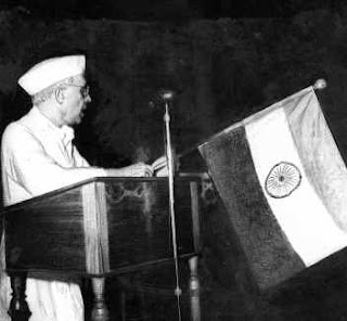 Nehru tryst with destiny speech