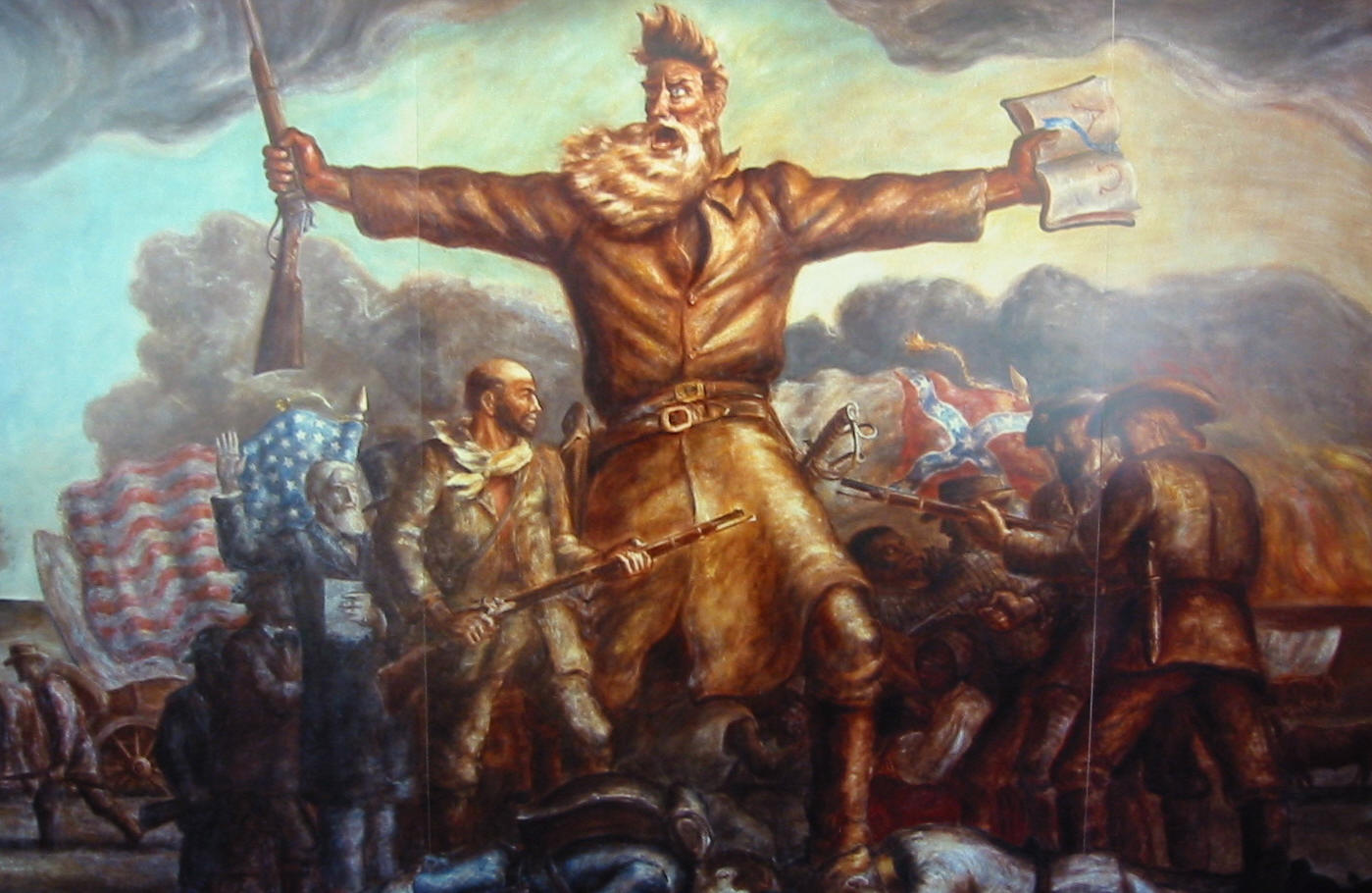 john brown hero or villain To southerners, john brown was a villain he went into kansas and  he was  viewed as a hero in the north  john brown would be considered a villain today.