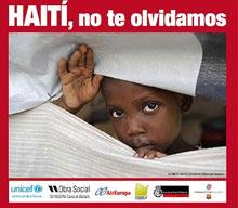 HAITI, LOS ESPANOLES NO TE HAN OLVIDADO