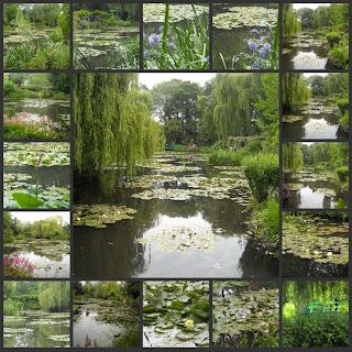 Ai piedi di una collina di betulle giardini famosi - Il giardino di monet ...