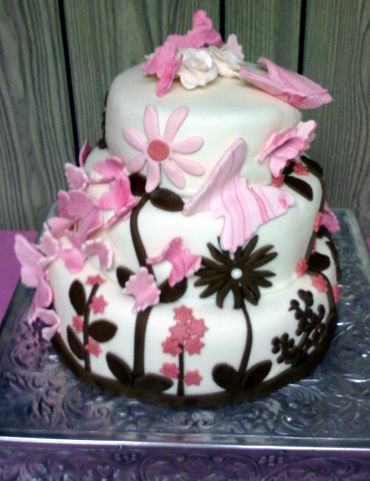 Butterfly Baby Shower Cake Images : Seven Deadly Sweets: Our Cakes Throughout The Years ...